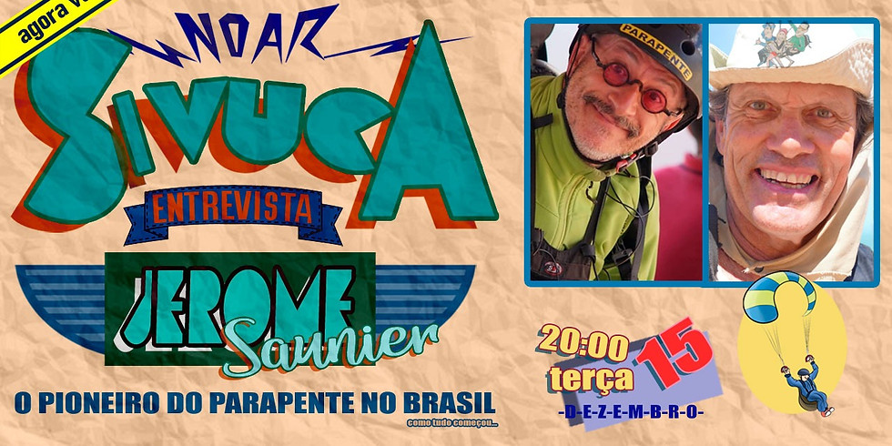 O início do Parapente no Brasil com Jerome Saunier