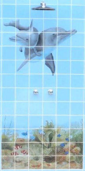 Golfinos no chuveiro
