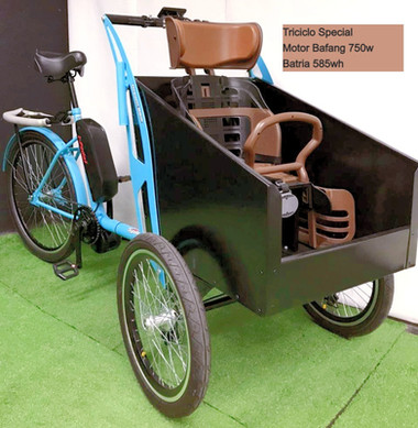 Triciclo iPedal com motor Bafang 750