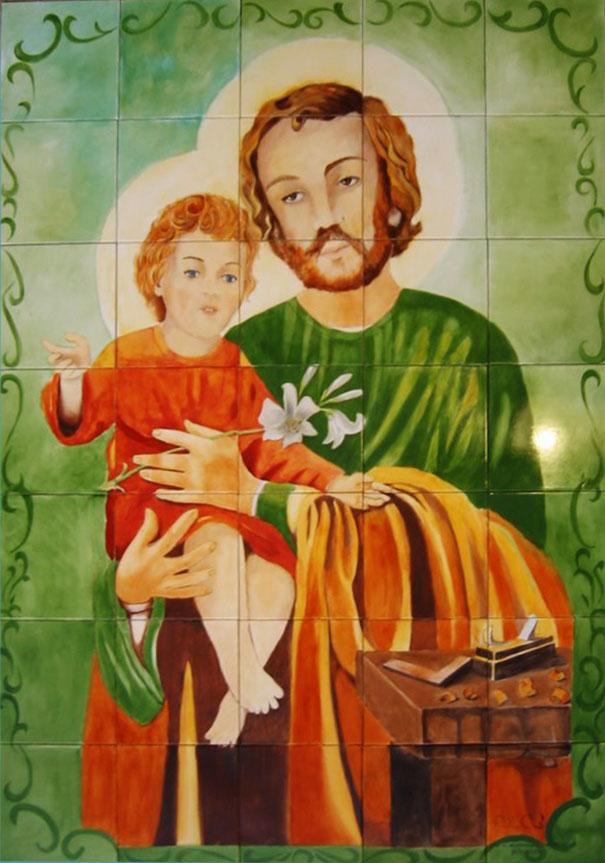 São José e Jesus Menino