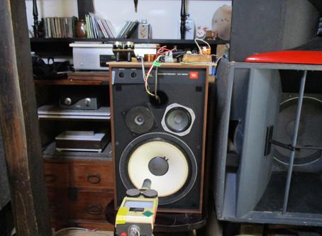JBL4311を新開発のアッテネーターを使ったネットワークで音質アップを