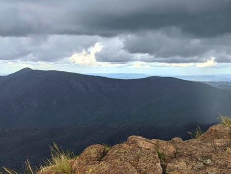 Novoroční výlet na Australké hory