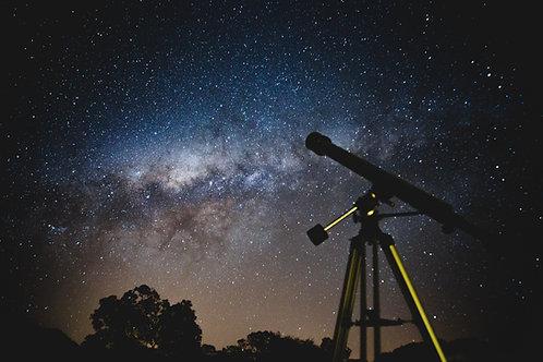 Experiencia Astronómica (Lunes, Miércoles y Domingos)