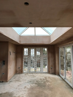 Large Extension with sky lights