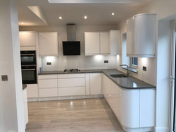 Kitchen with LED