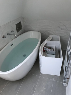 Modern bathroom (work in progress)