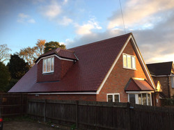 New modern roofing