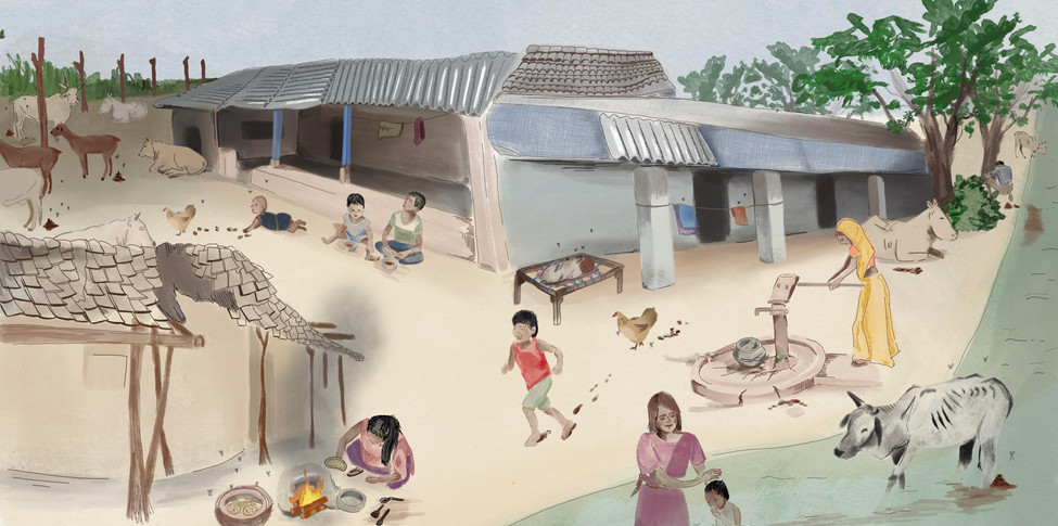 Faecal exposure pathways to infants in a rural village - © Julia Vila-Guilera©