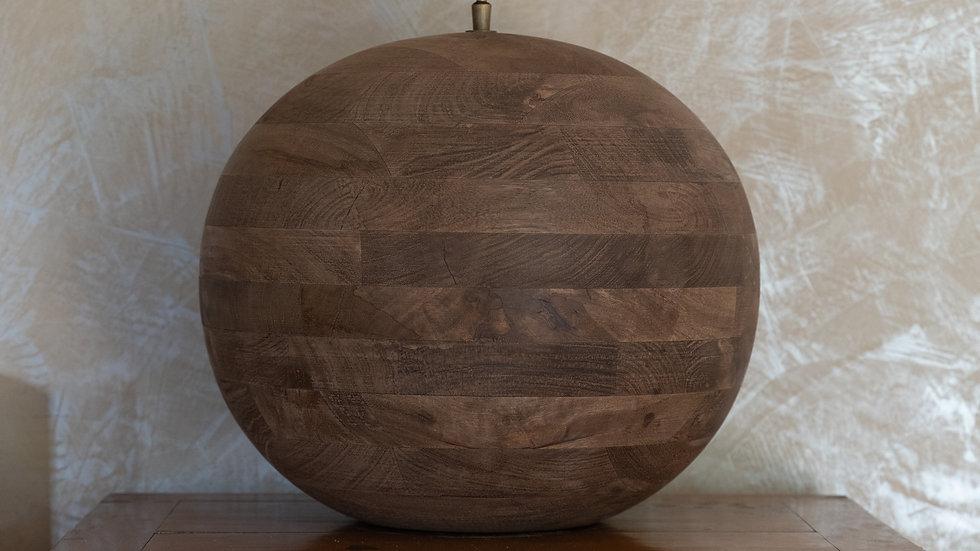 La boule de bois