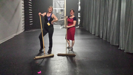 Stage Helpers - Couldn't do it without them!