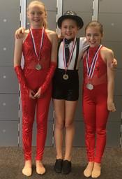 Sophia, Ellie & Jorgia - Modern Duet Medals