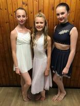 Grace, Kiera and Farrah - Lyrical solos