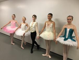 Grace, Kiera, Mitchell, Kadie & Connie - Ballet Solos