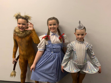 Junior Tap Trio - Evie, Erin & Lola