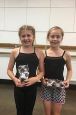 Ellie & Demi - Prize Winners