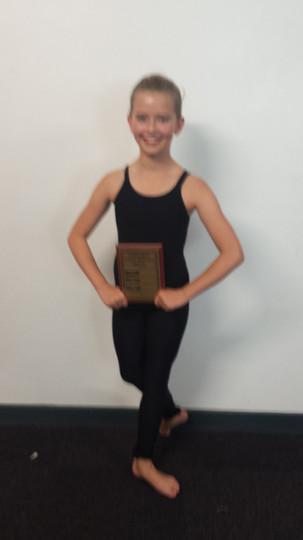 Issie - Best Dancer Award
