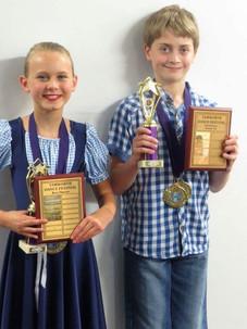 Kiera & Mitchell Championship Winners