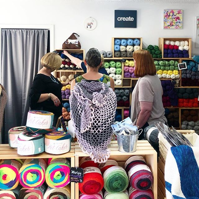 New space and new yarn