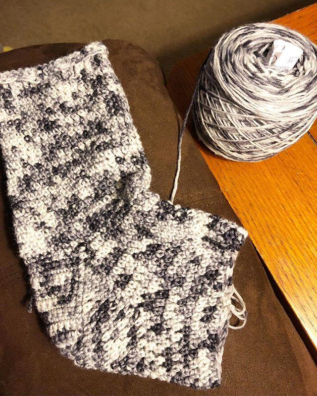 We're making socks in February! _Love &