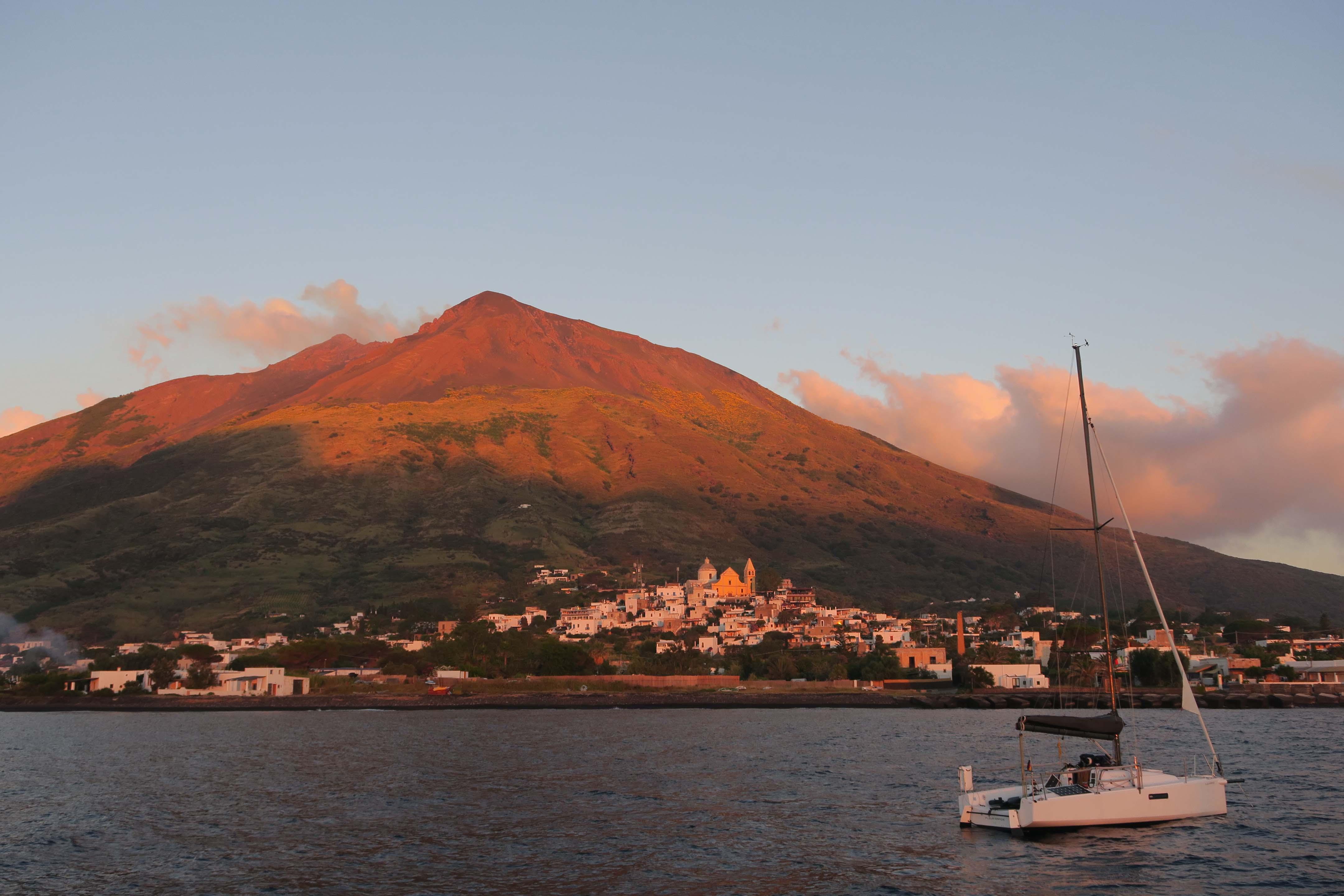 Küste Siziliens