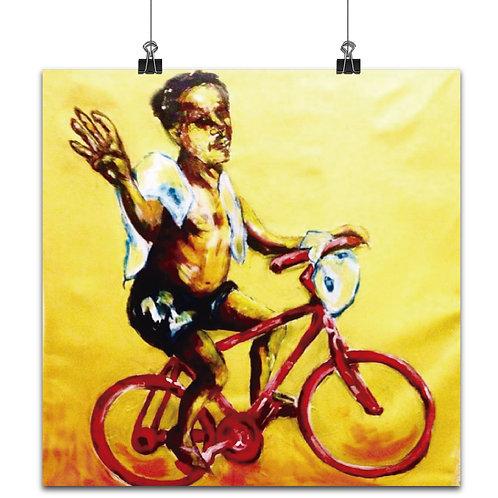 """Homenagem ao """"Veado da bike"""" - José Americo"""