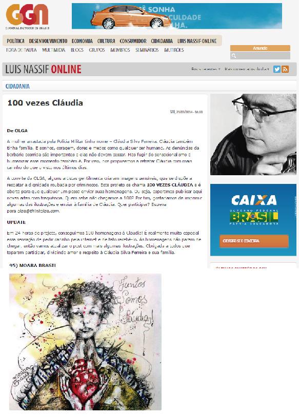 100 vezes Cláudia - Blog do Nassif