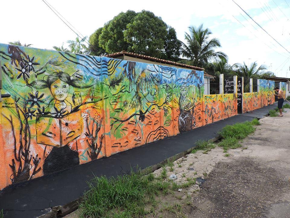 Projeto Arte no Muro -