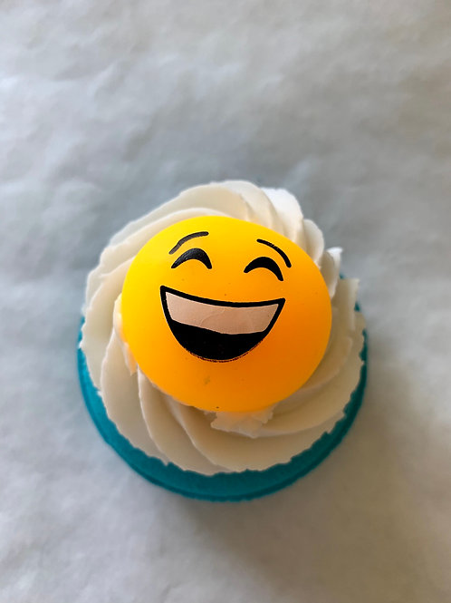 STAY HOME BATH BOMB~SMILEY 1