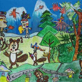 A108-郑雅文 海狸家族的森林派对.jpg