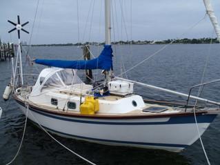 Setting Sail from Lake Worth, Fl for Bristol ,RI May 16, 2015