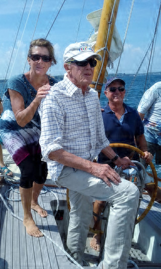 Herreshoff Museum Lecture: SailTwiceAround - Donna Lange, Two Time Circumnavigator