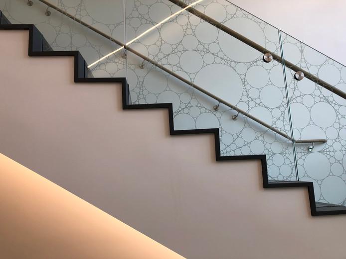Stair Detail: Fractal Pattern