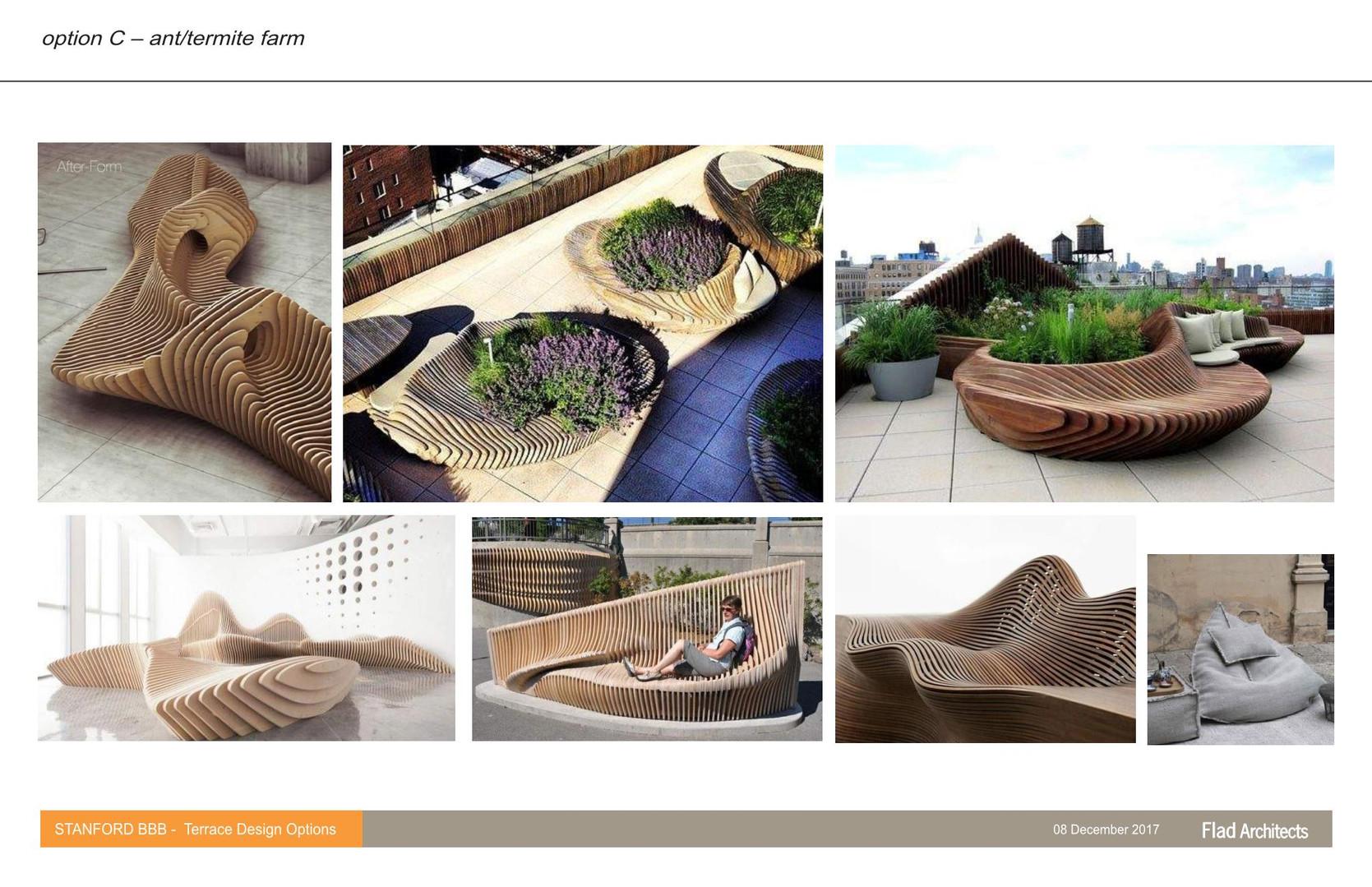 Terrace Planter Concepts