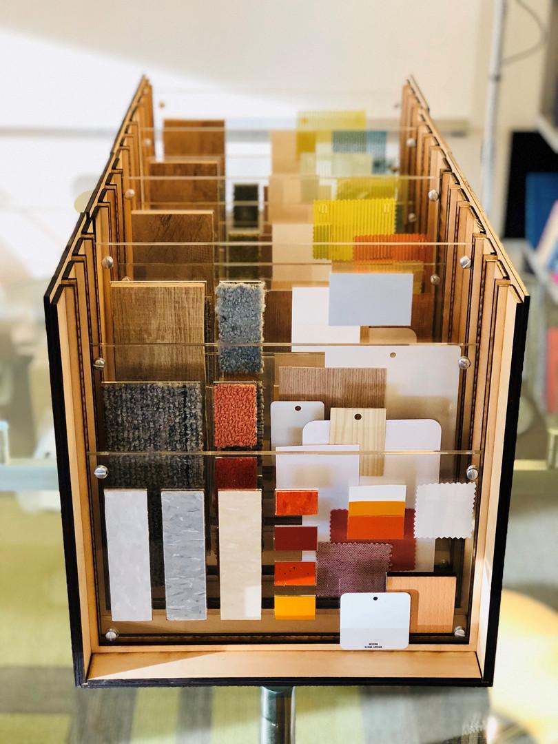 Transparent Finish Box