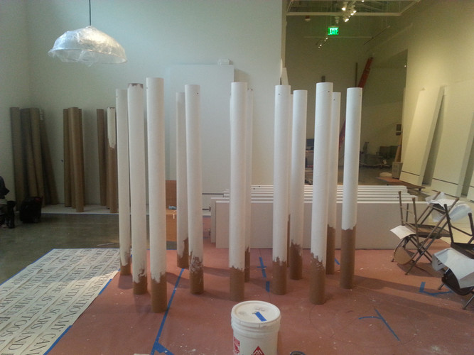 Drying columns