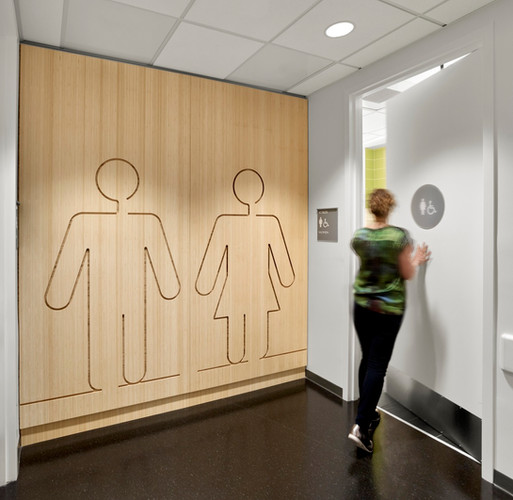 Restroom Entry Graphics