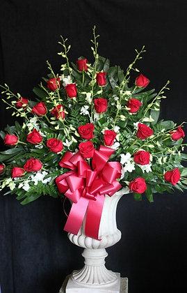 Rose Orchid Urn