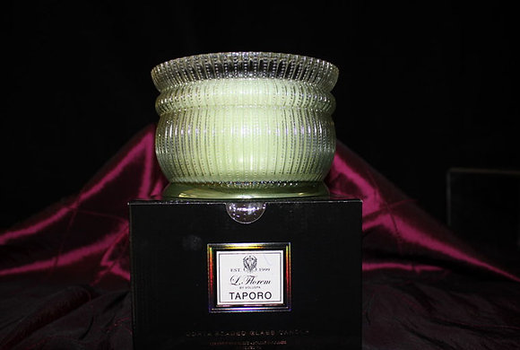 Taporo Beaded Glass Candle