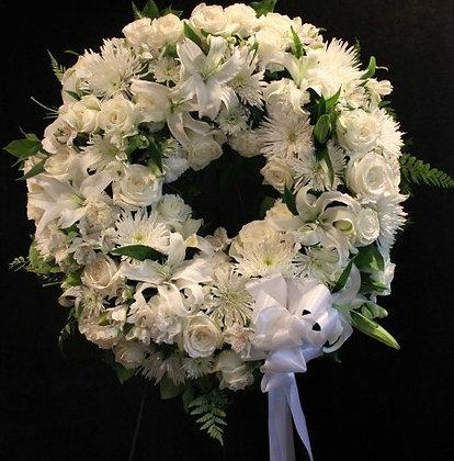 Wreath All White