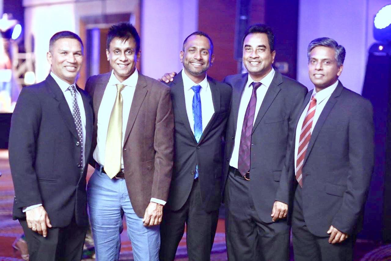 Sanjaya Fernando Dhammika Ranasinghe Suresh Kandiah  Stuart Chapmen and Prasaan Leanage