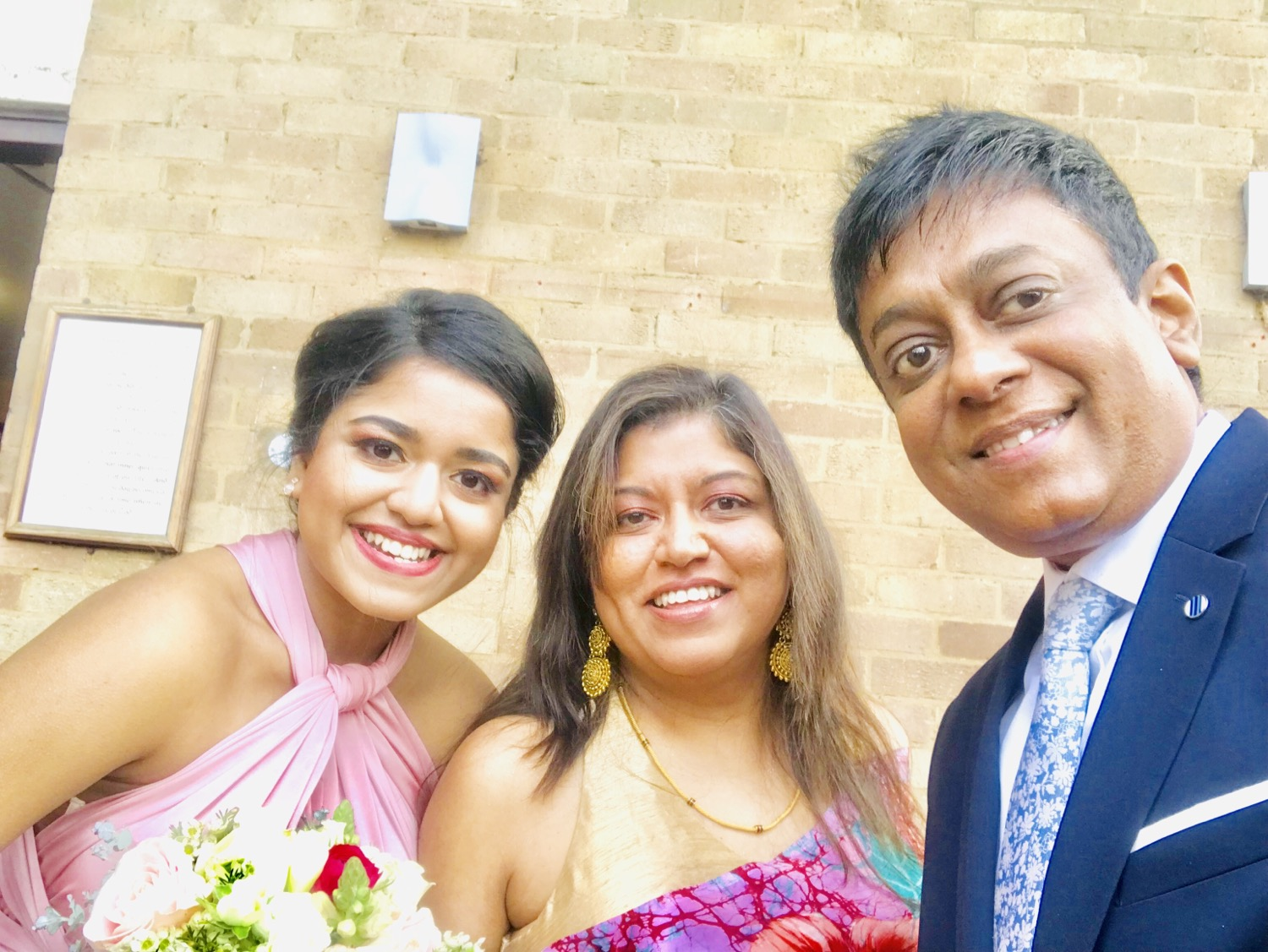Dhammika Nishakya and Nilusha