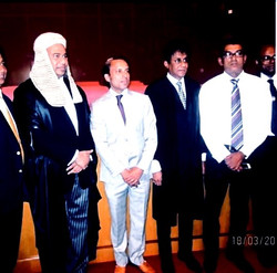 Dhammika Ranasinghe at Supreme Court event