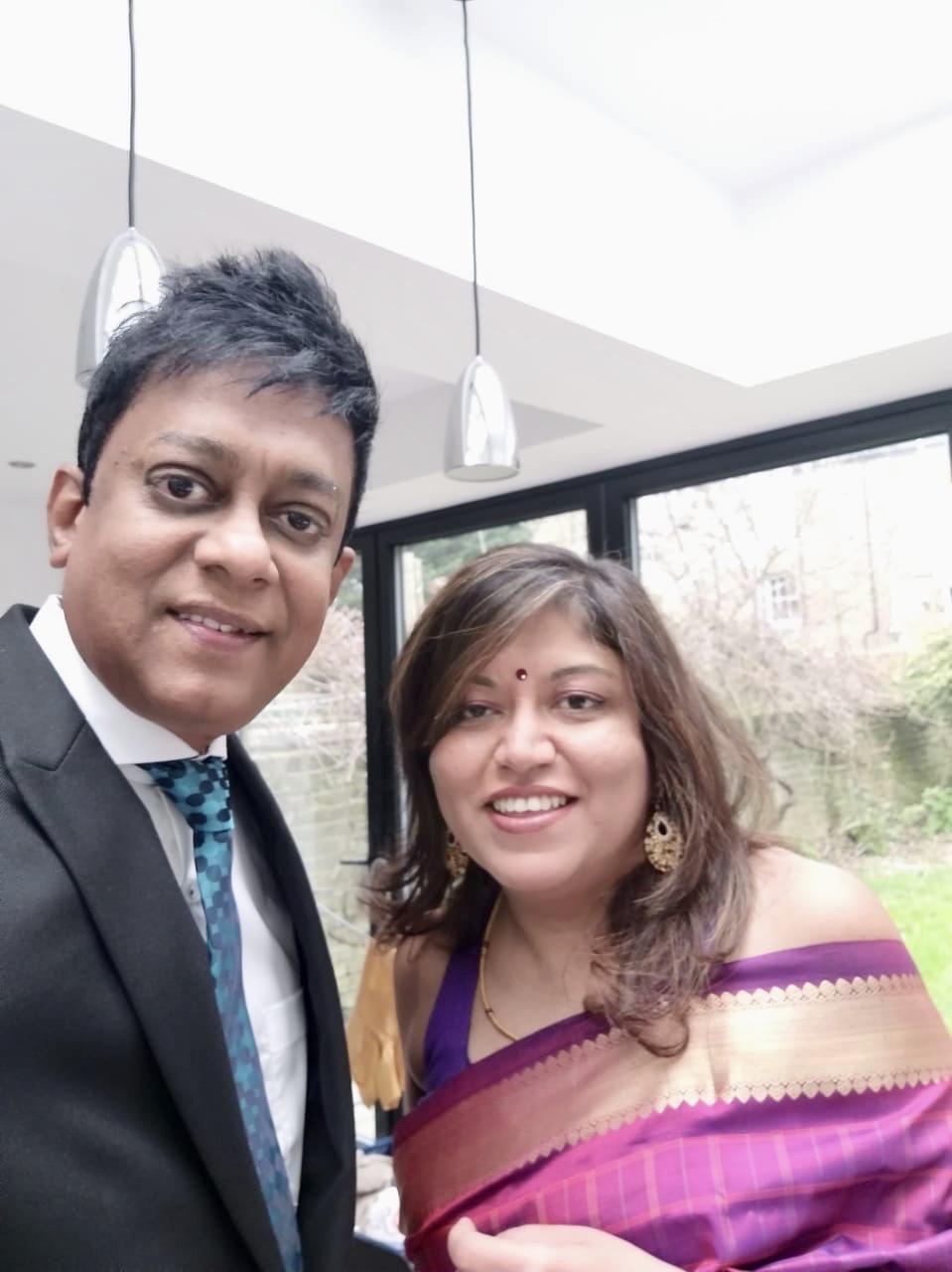 Nilusha and Dhammika Ranasinghe