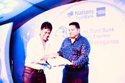 Dhammika Ranasinghe NTB golf tournament