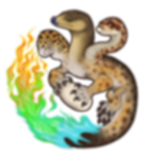 little fires gecko house logo