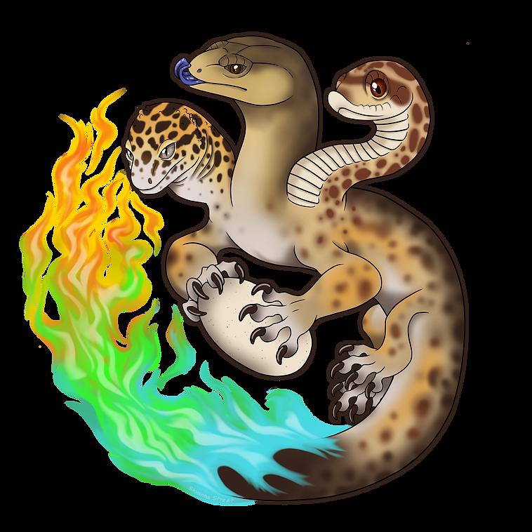 little fires gecko house logo