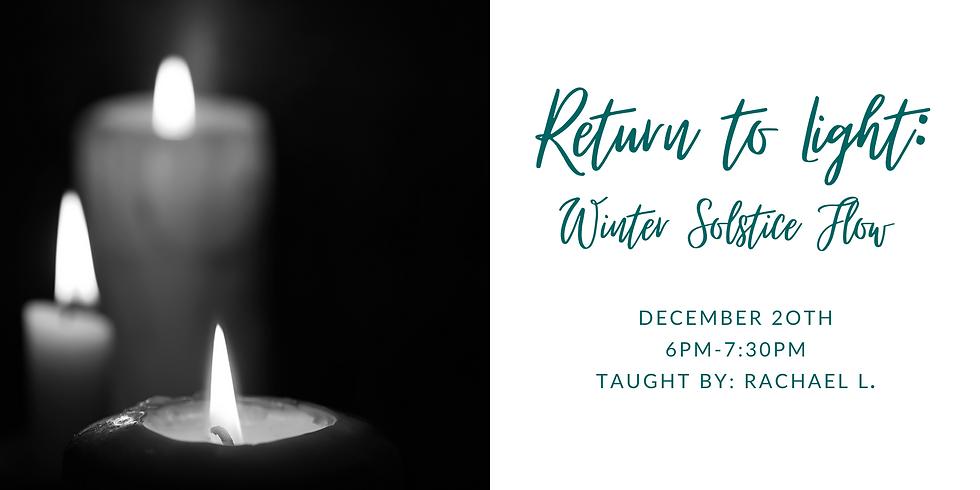 Return to Light: Winter Solstice Flow