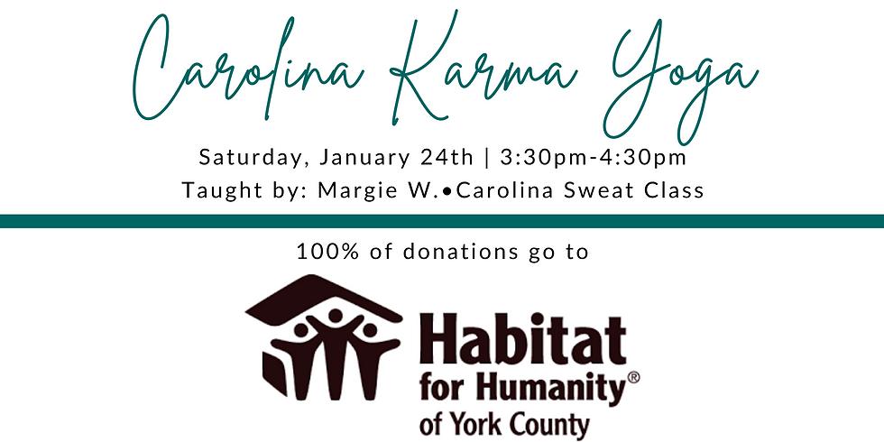 Carolina Karma Yoga (Habitat for Humanity)