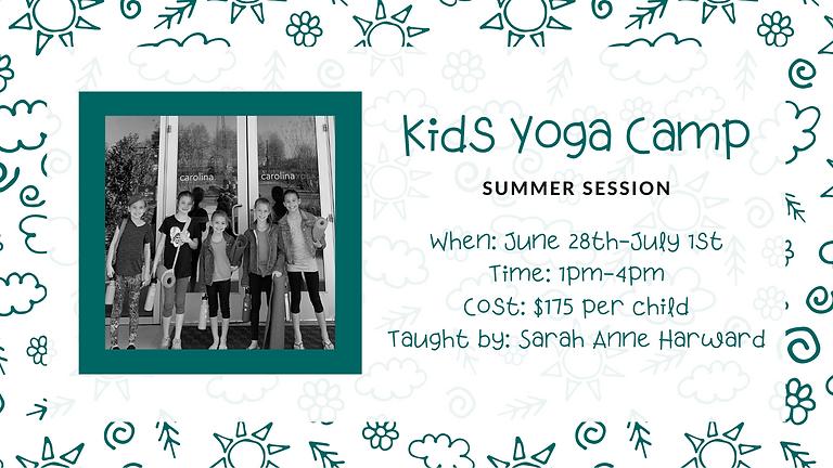 Kids Yoga Camp (Summer Session)