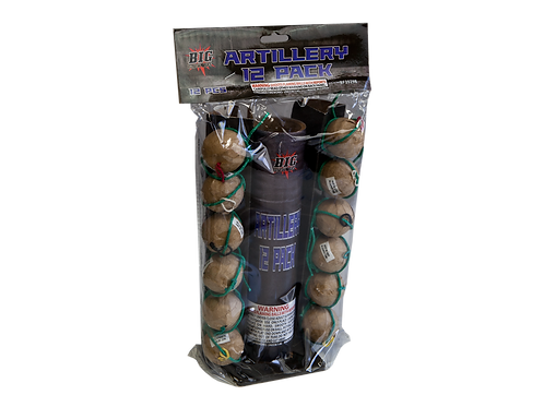 12 PACK BAG ARTILLERY SHELL
